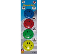 Magneet buttons 4dlg. Smile, BGS 85812